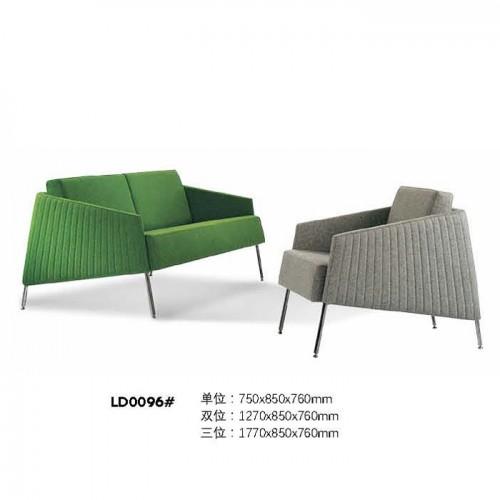 商务休闲沙发时尚办公沙发价格LD0096#