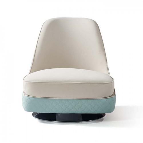 时尚现代布艺单人沙发旋转沙发椅LD6082#