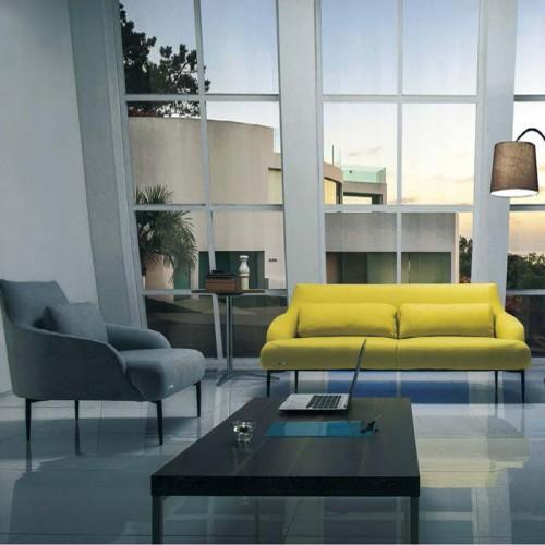 现代时尚办公洽谈沙发椅 会客接待沙发LD6136#