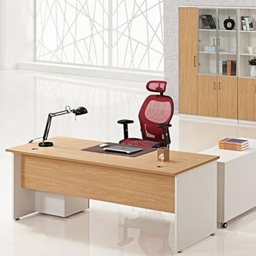 办公家具简约现代胶板经理办公桌02
