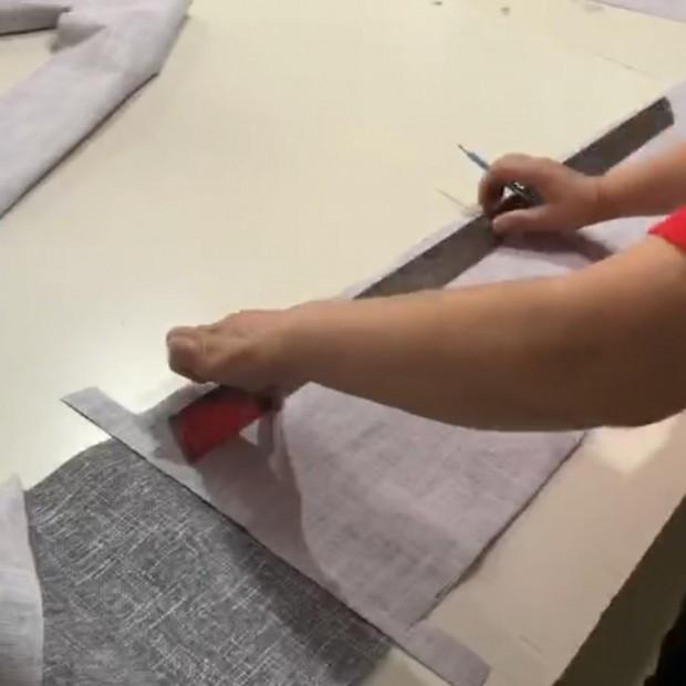 舒博特沙发面料裁剪 (16播放)