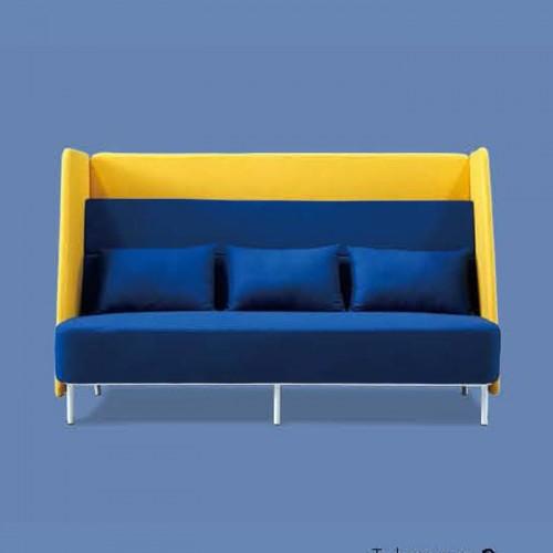 厂家定制休闲布艺沙发创意接待沙发Q6034#