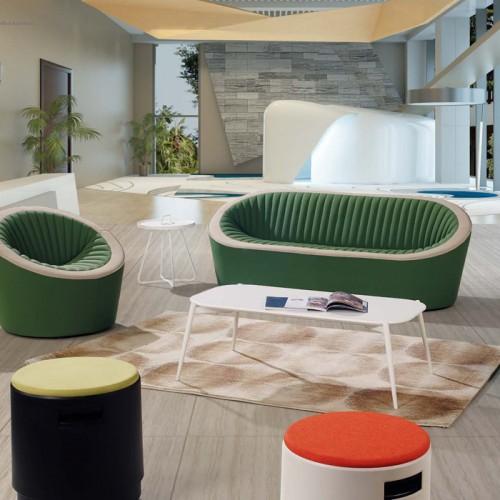 厂家定制接待会客沙发创意 休闲办公室沙发LD9009#