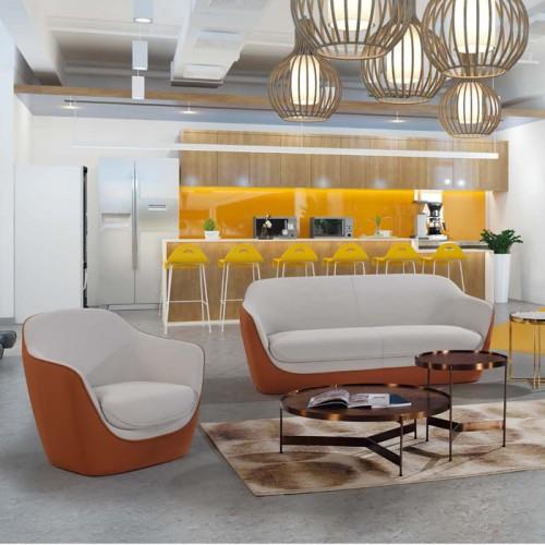 休闲办公沙发商务接待沙发采购批发LD9005#