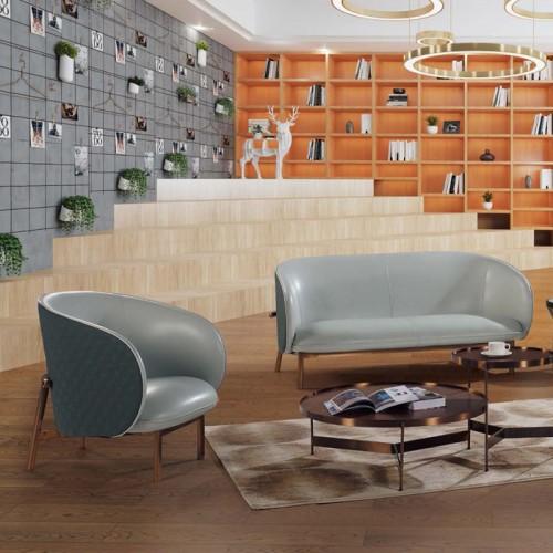 现代北欧休闲沙发会客沙发供应厂家LD9012#