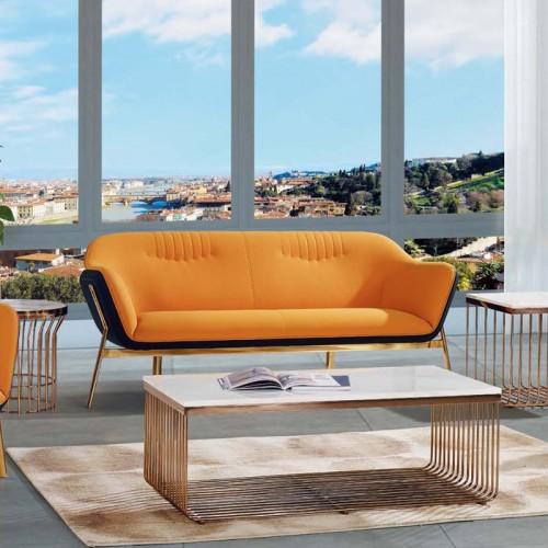厂家直销时尚轻奢休闲沙发洽谈沙发LD9015#