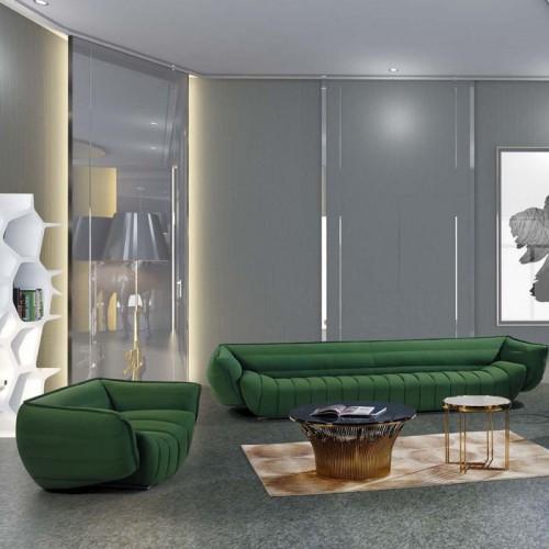 商务办公室沙发休息区异形创意沙发LD9008#