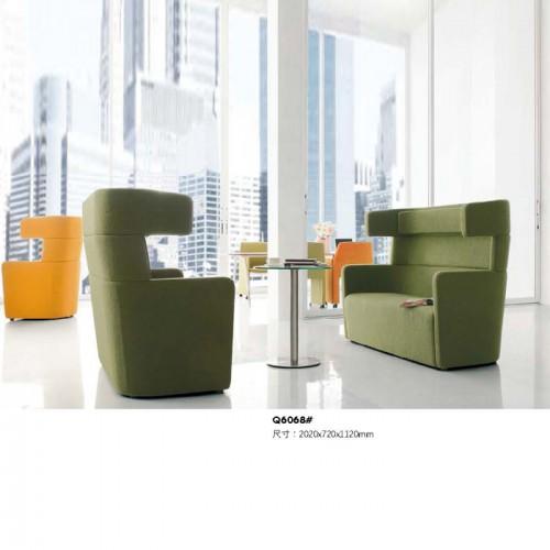 单人创意休闲沙发 时尚沙发卡座Q6068#