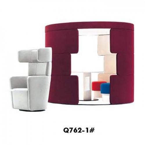 创意个性洽谈沙发休闲沙发定制Q762-1#