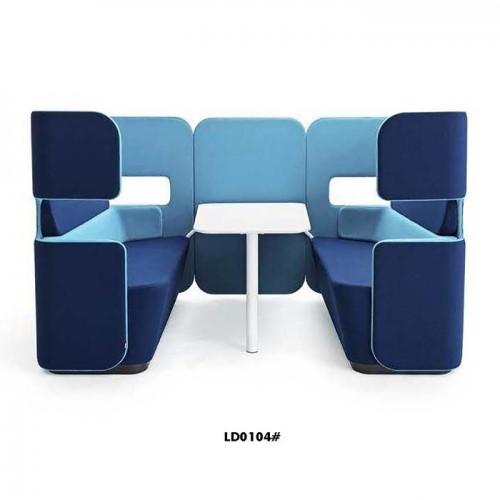 工厂定制洽谈区沙发创意时尚休闲沙发LD0104#