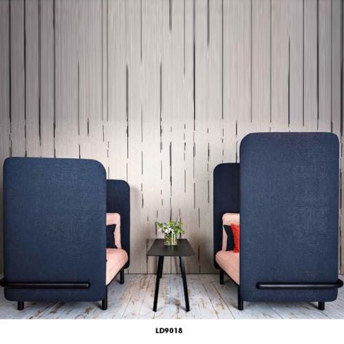 休闲卡座洽谈沙发会客休息区高背沙发组合LD9018#