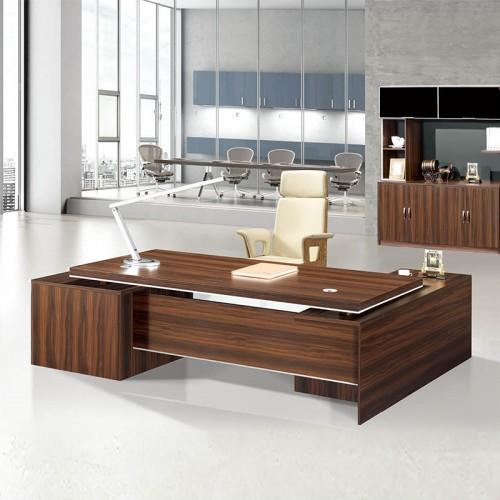 现代板式老板办公桌03