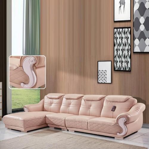 豪华皮质家用休闲沙发