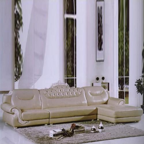 欧式豪华皮沙发休闲沙