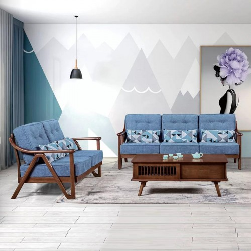 简约现代北欧休闲沙发