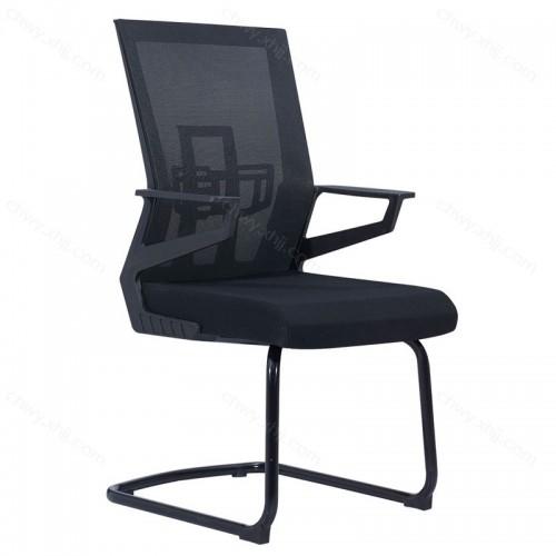 电脑椅网布现代简约办公椅弓形职员椅厂家定制 Z-D282#