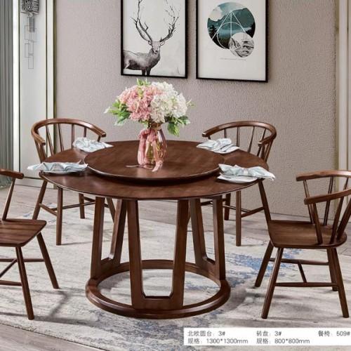定制批发圆型餐桌现代