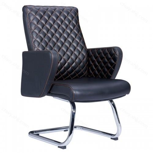 超纤皮办公椅电脑椅办公室职员弓形椅子批发 Y-C305#