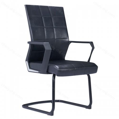 厂家定制黑象纹员工弓形椅办公室电脑椅子 Z-D236-2#