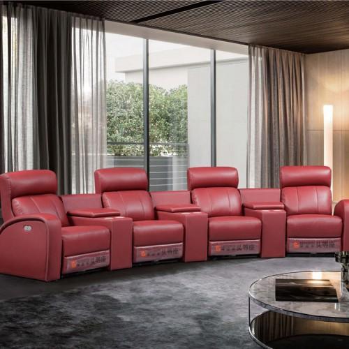 时尚真皮头等舱单人沙发躺椅 简约真皮头等舱单人沙发躺椅_B006