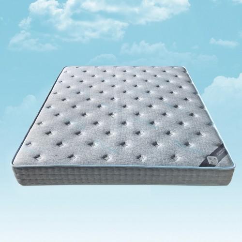 舒适透气面料床垫加厚双人床垫15
