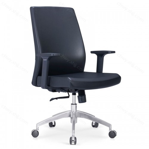 企业办公椅子职员椅老板办公椅主管椅超纤皮转椅 Z-E285#