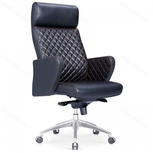 超纤皮椅老板椅电脑椅家用转椅办公椅职员椅书房椅子 Y-A305#