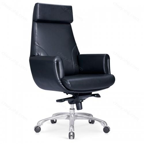 老板椅超纤皮大班椅转椅电脑椅带靠枕总裁椅  Y-A320#