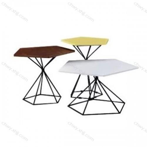 定制铁艺茶几客厅茶桌边桌创意造型咖啡桌 2#