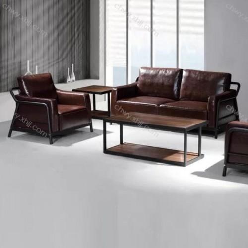 客厅办公室接待沙发商务会客沙发皮艺沙发 现代16#