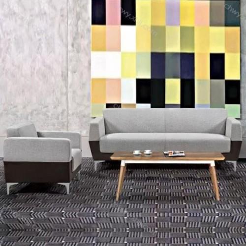 日式现代小户型客厅卧室工作室单人双人三人简约布艺沙发 现代6#