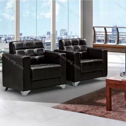 香河春晖办公沙发厂家 休闲真皮沙发定做 8031