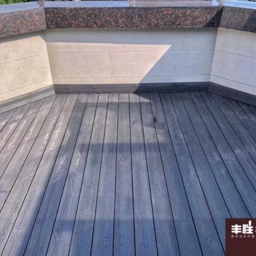 丰胜花园木防腐木质保10年