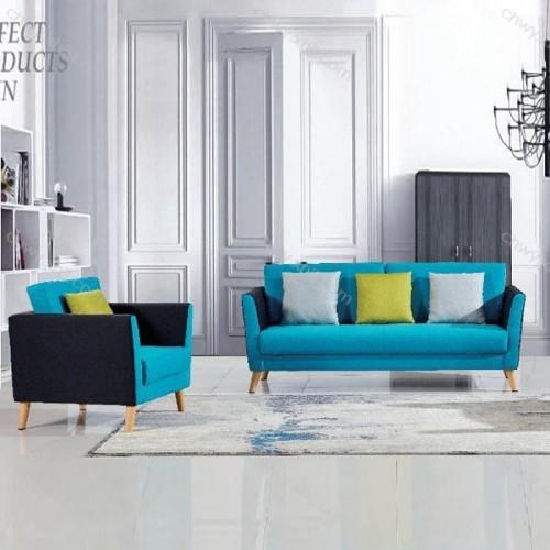 厂家直销办公室沙发北欧洽谈沙发70