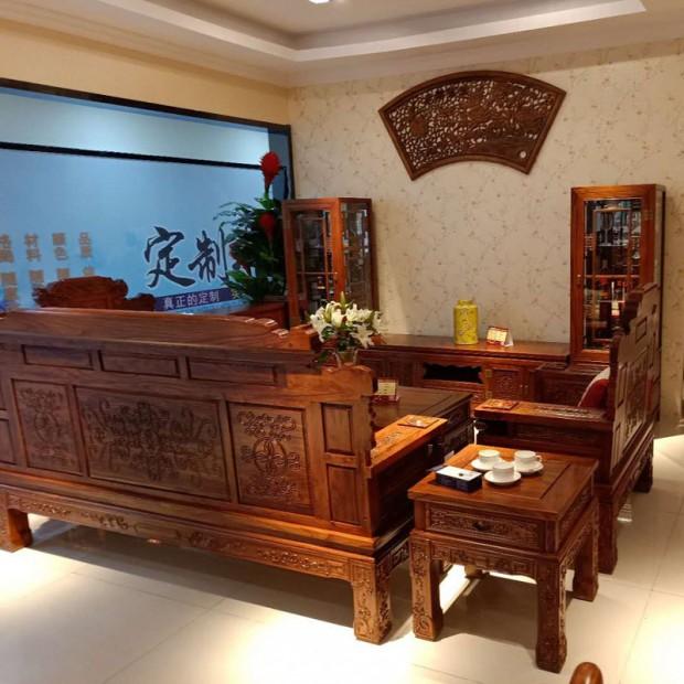 香河静雅轩榆木沙发 客户案例 (44播放)