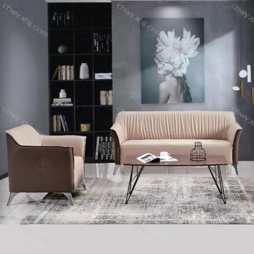 批发北欧风休闲沙发办公室布艺沙发 现代4#