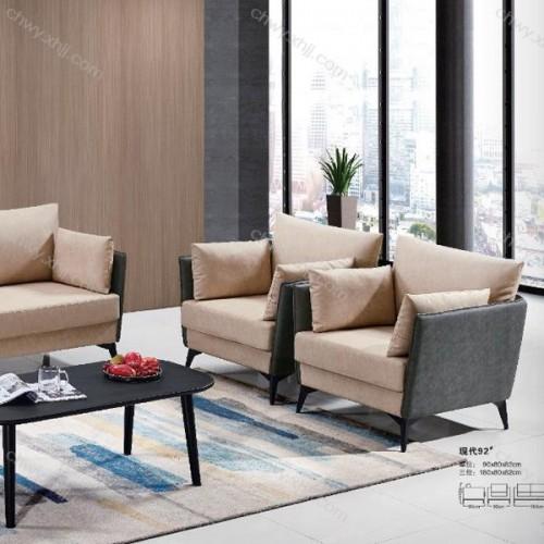 工厂直销现代商务办公沙发休闲会客沙发 现代92#