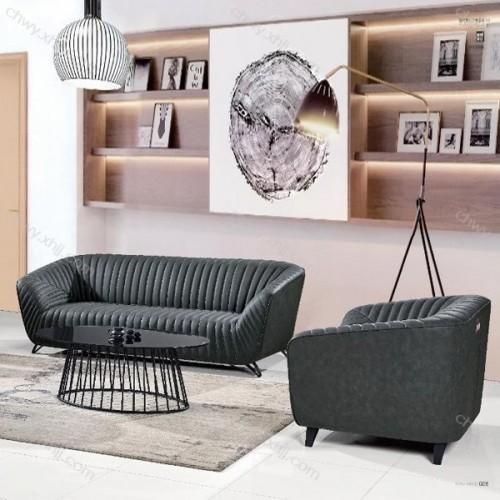 简约时尚造型商务沙发供应商 现代86#