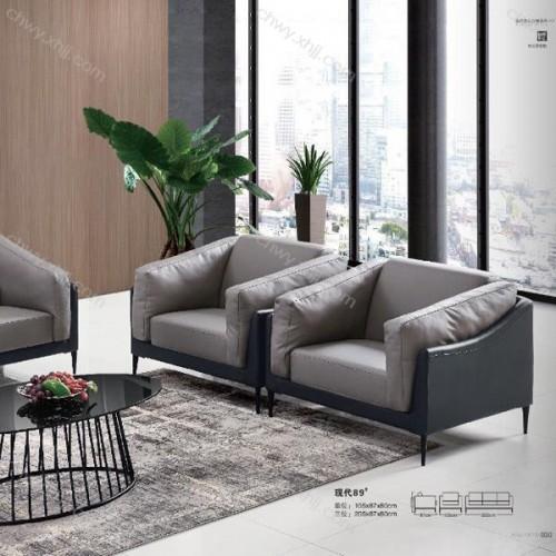 现代办公室接待沙发小户型布艺沙发 现代89#