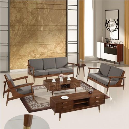 批发北欧工业风客厅小户型沙发布艺沙发 7#