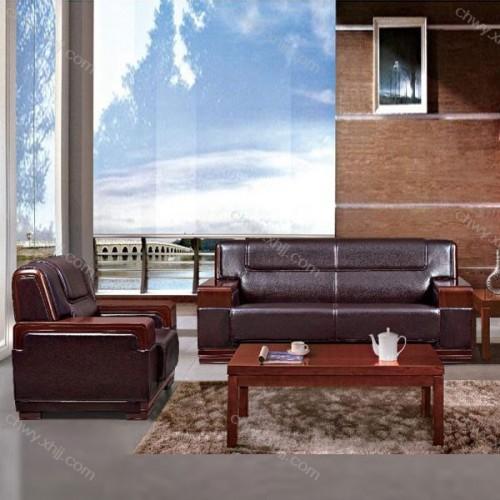 办公室家具沙发商务会客接待沙发皮艺沙发 BGSF-08#