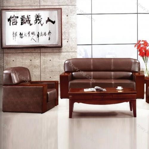 工厂定制商务办公沙发新中式传统沙发 BGSF-10#
