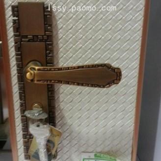 香河刘氏锁具 门锁室内卧室房门 锁具简约锁 (3)