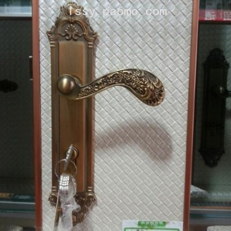 欧式门锁室内门锁卧室房门锁实木门锁 (3)