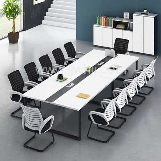 现代简约培训桌长条办公桌04