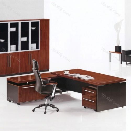 简约现代老板办公桌大班台主管桌总裁桌   JLT-05