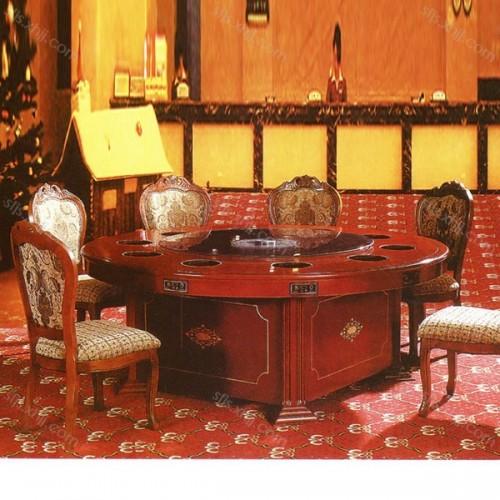 酒店电动餐桌大圆桌品牌供应商CZ-06#