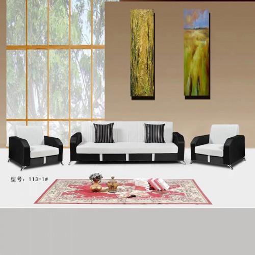 简约现代客厅家具 厂家直销组合沙发 113-1#