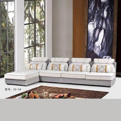 客厅布艺软包沙发直销价格55-2#