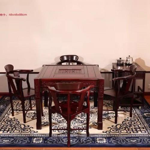 厂家直销红木功夫茶台茶桌圈椅01